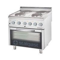 Stalgast 700 ND Elektroherd mit Backofen (600 x 400 mm)  4-Platten  kaufen