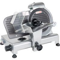 Stalgast Aufschnittmaschine mit antihaftbeschichteter Anschlagplatte Ø 220 mm g34599 kaufen