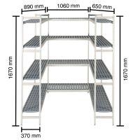 Regalsysteme für Kühlzellen g34632 kaufen