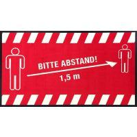 "Hinweismatte / Schmutzfangmatte ""Bitte Abstand!"" g44123 kaufen"