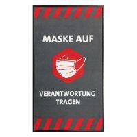 """Hinweismatte / Schmutzfangmatte """"Maske auf - Verantwortung tragen"""" g44132 kaufen"""
