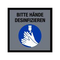 """Hinweismatte / Schmutzfangmatte """"Bitte Hände desinfizieren""""  kaufen"""