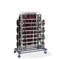 Transportwagen Elegance für 16 Absperrpfosten und Absperrkordeln g44392 kaufen
