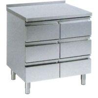 Schubladentisch Standard 6 Schubladen & Aufkantung 700er  kaufen