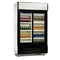 Flaschenkühlschrank LG-1000S Schiebetüren 1000 L g14827 kaufen