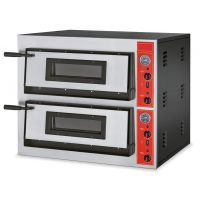 Elektro Pizzaofen Edelstahl E44/AVT für 8 Pizzen Ø 300 mm  kaufen