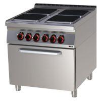 Elektroherd 900 mit Ofen 4 Platten, 4x 3,5 kW g9511 kaufen